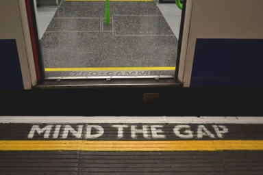 mind the gap for web